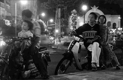 Sunday Night in Central Saigon, Vietnam