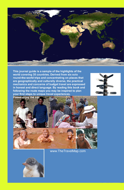 back cover of The Travel Map book
